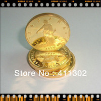 Wholesale Spain Pesetas Gold Replica coin gold plated clad coin