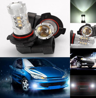 Wholesale 2 Fog Lights Daytime Running light Super Bright W HB4 Osram LED Car Headlight Light Lamp Bulb