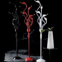 Wholesale swan LED floor lamps heads Dia mm H mm residential lighting