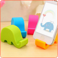 Wholesale 2016 HOT Mobile Phone Holder For iPhone6 s s iPad Samsung Mobile Phone Elephant Stand Stents