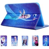 anna tote - For iPad air Ipad mini Cute Frozen Elsa Anna Princess Flip Cartoon Leather Case Cover with Kickstand Stand Folding