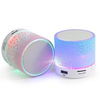 active radio - New Stone Pattern Flashlight Wireless Bluetooth Speakers Glare LED Flash Light Mini Wireless Active speaker support TF card FM radio A9