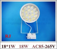 Wholesale high power LED rail spot lamp light LED track light spotlight W AC85 V LED W white warm white CE ROHS