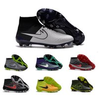 acc cotton - Drop Shipping Football Shoes Men Magista Obra FG ACC Soccer Boots Authentic High Cut Outdoor Sports Shoes Size