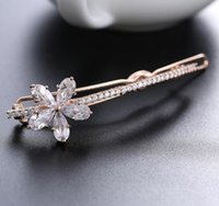 asian hair products - Stone exquisite flowers decorated high end zirconium style jewelry luxury fashion jewelry invites all match tide products agents