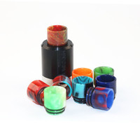 bear shop - High Quality Epoxy Resin Drip Tip Wide Bore Mouthpiece drip tip for TFV8 RDA Vaporizer Free shopping
