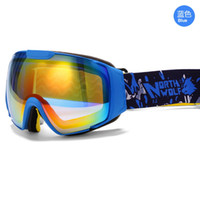 Wholesale Frameless Ski Goggles Snowboard Snowmobile Professional Anti Fog UV Double Lens Snow Sports Protective Gear For Men Women