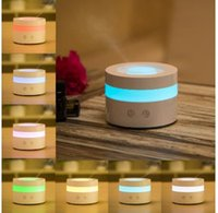Wholesale 2016 ML Mini Portable Ultrasonic Essential Oil Diffuser Air Freshener For Home Decoration