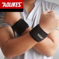 adjustable wrist brace - AOLIKES PC Adjustable Sport Wristband Wrist Brace Wrap Bandage Support Band Gym Strap Safety sports wrist protector ZB HBK018