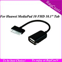 Wholesale For Huawei Mediapad FHD quot Tablet USB OTG Cable for huawei mediapad fhd usb otg host adapter