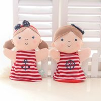 babies parenting - 2016 Love Children hand puppet doll Yi Beier hand puppet baby plush toys parenting appease doll gift