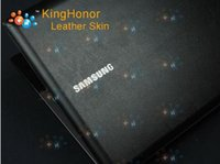 Wholesale KH Laptop Special Carbon Crocodile Snake Rust Leather Cover Sticker Skin Protector For Samsung R458 quot