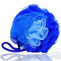 Wholesale Candy Color Body Wash Bath Ball Large Bath Sponge Diameter cm Bath Flower Mesh Bath
