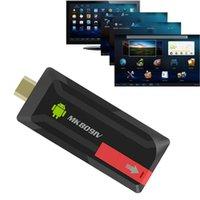 Wholesale Bluetooth Quad Core RK3188T P Android TV Stick Dongle G GB XBMC DLNA Wifi Mini PC MK809IV TV Media Player
