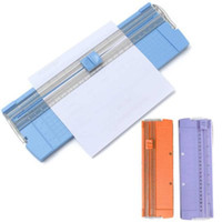 Wholesale Portable Lightweight A4 A5 Precision Paper Photo Cutter Scrapbook Trimmer Cutting Mat Machine for home office