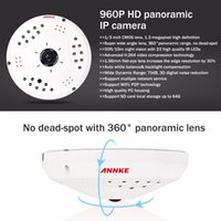 advance processor - Annke Q2 P HD Panoramic IP Camera with Advanced Processor for Detailed Images Security Camera with Panoramic Lens