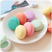 Wholesale 6 Mini clips dispenser Macaron storage box Candy organizer for eraser zakka Gift Stationery Office school supplies