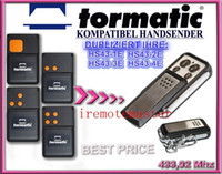 Wholesale 2 pieces For Tormatic HS43 E HS43 E HS43 E HS43 E remote duplicator FIXED CODE with MHZ