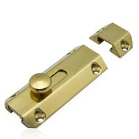 Wholesale brass bolt furniture latch door lock hardware part household lock diy window latch thicken handmade buckle