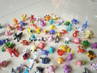 Wholesale 2016 Hot Sale DHL Free CM Designs Mini Poke Action Figures Toys Best Gifts For Children