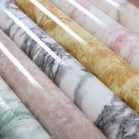 baking paper roll - Thicken the light marble furniture refurbished sticker adhesive paper wall cabinet room of the lacquer that bake waterproof and