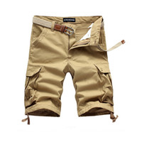 Men beach cargo pants - High Quality New Fashion Style Outdoors Men Short Pants Travel Beach Mens Cargo Short Casual Sport Washing Short Trousers BKZ002