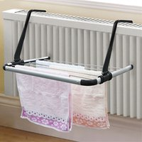 Wholesale CLOTHES AIRER LAUNDRY DRYER INDOOR OUTDOOR CARAVAN BALCONY RADIATOR DRYING RACK FOLDABLE HOME HOTEL