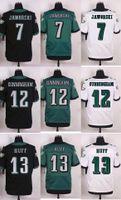 Wholesale 2016 Newest Men s PE Ron Jaworski Randall Cunningham Josh Huff Elite Football Jerseys
