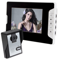 application monitors - 7 Inch Color Video Door Phone Kits Touch Pad One Camera with One Monitor Wide applications such as villas apartments