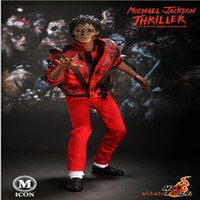 Wholesale 30cm mj THRILLER red Action Figure doll toys good Christmas very good package