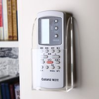 Wholesale Wall mounted air conditioner TV remote control storage box Organizer remote control holder cassette wall hanging rack