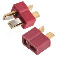 Wholesale T Plug Connectors Male Female For Deans RC Lipo Battery Helicopter