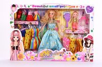 beautiful statue - Barbie doll barbie girl toy princess dream girl toy is a beautiful girl