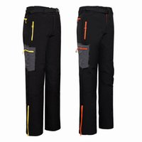 Wholesale New Hiking Brand Outdoor Pants Men Hiking amp Camping Softshell Pants Waterproof Windproof Thermal For Hiking Camping Ski
