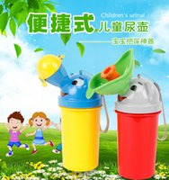 Wholesale 2016 hot sale Portable Travel Urinal Car Toilet Camping Boy Girl Kid Potty Vehicular Training Travel urination