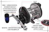 Wholesale 4BB PUNCH830 Big Game Trolling Fishing Reel Jigging Boat Reel Ocean Reel Bait Cast Drum Reel With Electric Counter Wheel