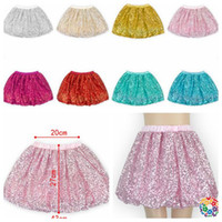 Wholesale girls sequins tutu dress Skirts Pettiskirt Dancewear Fancy Skirts Costume Fashion kids Lantern skirt design KKA565