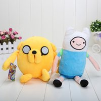 childrens toys and gifts - 80pcs cute Adventure time plush toy Jack and Finn plsuh stuffed toy approx inch good childrens gift in opp bag
