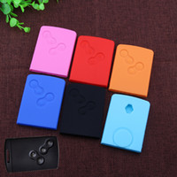 Wholesale 2016 New Car Styling Silicone Key Cover For Renault Koleos Logan Fluence Kangoo Scenic Latitude Megane Hatchback Quality color