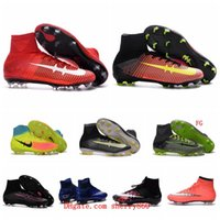 beige boys shoes - Mens Kids Mercurial CR7 Superfly V FG Football Boots Soccer Shoes Magista Obra Orden Boys Soccer Cleats Women Children Soccer Boots Youth