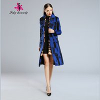 Wholesale Autumn and winter fashion casual jacket Double Breasted Plus Size wool coat women parka long woolen Outerwear high quality coats
