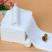 Wholesale 3 Layers New Reusable and Easy use Soft and Breathable Baby Modern Cloth Diaper Nappy Liners