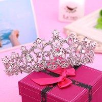 anchor jewlery - 2016 Marriage Headdresses Crowns New Bride Anchor Full Rhinestones Tiara Bridal Hair Accessories Headbands Wedding Headwear Hair Jewlery BM