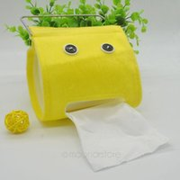 Wholesale New Home Tissue Box Cute Expression Face Paper Towel Storage Tissue Case XJJ0123