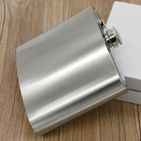 Wholesale 2016 hot ounce large stainless steel hip flask alcohol flask pocket flask wine flask liquor flask