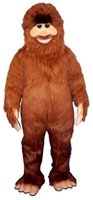 big bigfoot - High Quality Big Foot Mascot Adult Costume Bigfoot Theme Anime Cosply costumes Carnival Fancy dress Fursuit Kits for shool