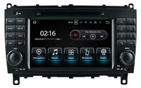 Wholesale Android Car DVD Player Benz clk w209 benz cls w219 Radio Stereo GPS Navigation System with Fiber decoder functions