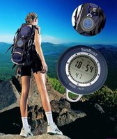 Wholesale Height meter Height Measuring Instruments in mini electronic compass altimeter barometer altimeter thermometer