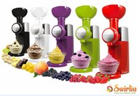 Wholesale Household Fruit Ice Cream Machine Big Boss Swirlio Frozen Ice Cream Maker