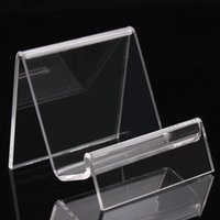 acrylic bangle stand - 6 CM clear acrylic bracelets bangles watch wallet display rack jewelry holder with new nice design A89